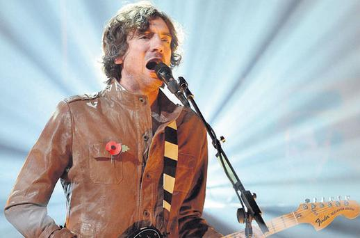 DEMI-GOD: Gary Lightbody of Snow Patrol says his songwriting is 'very simplistic'