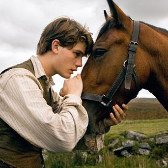 The UK premiere of War Horse is taking place in London