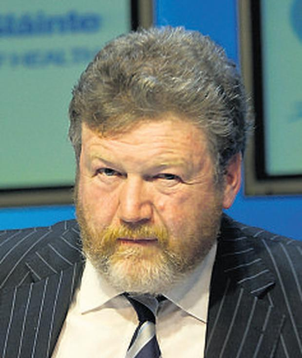 Dr James Reilly: fears