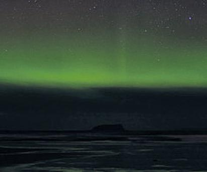 The Northern Lights in Ballyliffin, Inishowen, Co DonegaI
