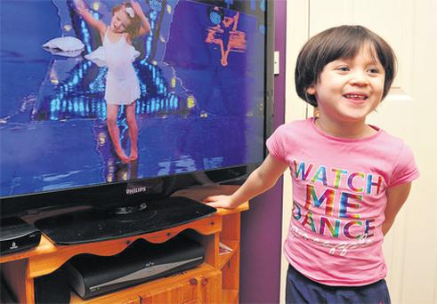 Six-year-old Casey Fitzgerald, who has cerebral palsy, will be able to dance like her idol, Sweet Surprise, who starred on TV show 'Got To Dance'.