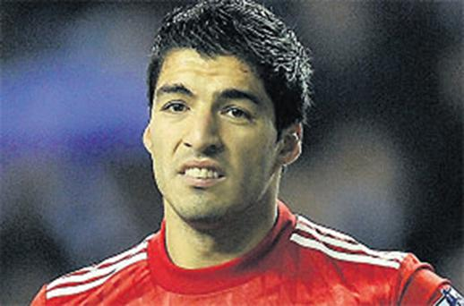 Luis Suarez: will miss FA Cup tie