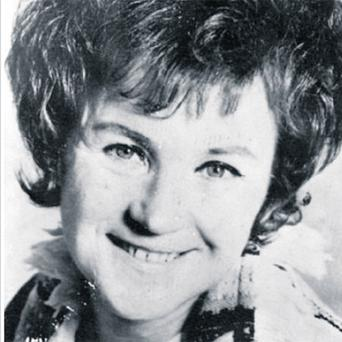 A publicity still taken during Bridie Gallagher's career