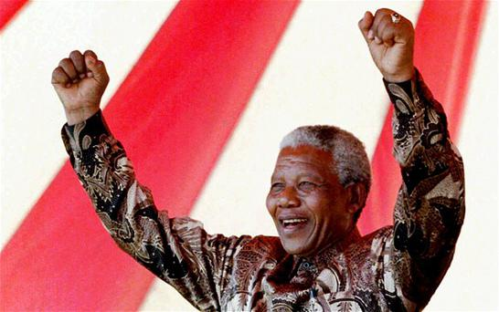 Nelson Mandela has given his approval to the series