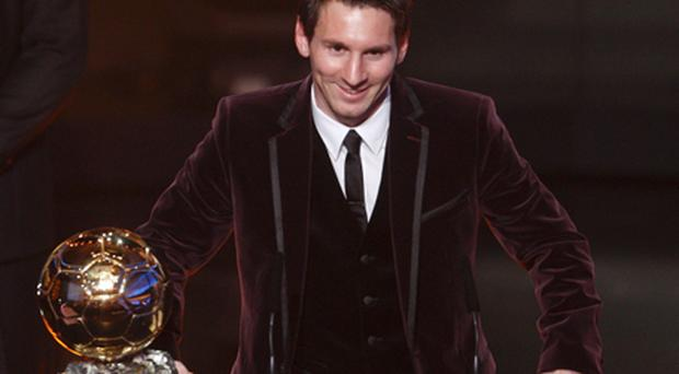 Lionel Messi, the Barcelona forward, once again won the Ballon d'Or