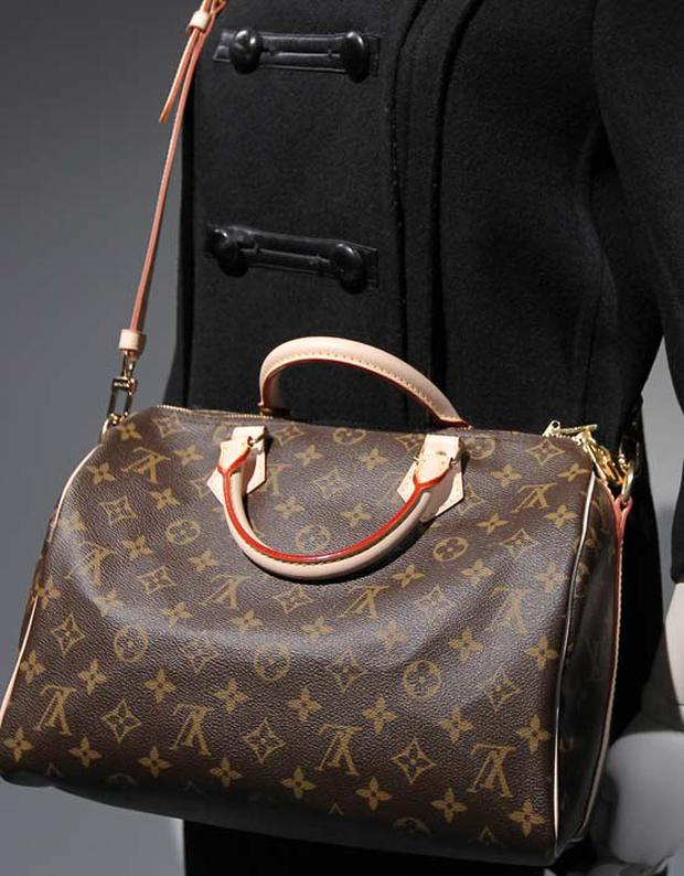 The ultimate label lover accessory - a Louis Vuitton bag. Photo: Getty Images