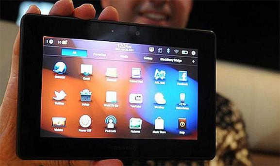 The BlackBerry PlayBook