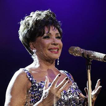 Dame Shirley Bassey never planned to be a singer