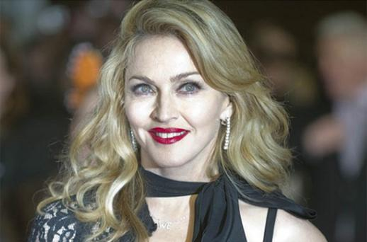 Madonna arrives for the UK Premiere of W.E.