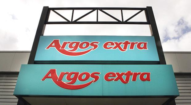 Home Retail Group, which also owns Homebase, said like-for-like sales at Argos fell by 8.8pc in 18 weeks to December 31. Photo: Getty Images