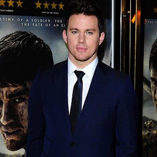 Channing Tatum wants to produce every film he stars in from now on