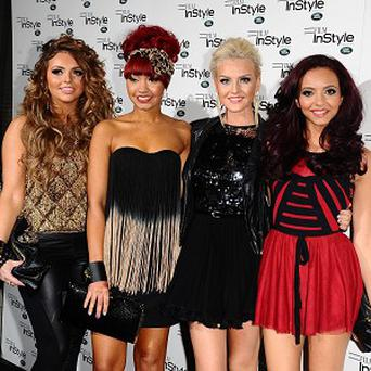 X Factor winners Little Mix have been getting in shape for their live performances