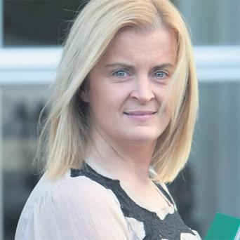 Janet Sheehan who took a case for unfair dismissal against Tesco to the Employment Appeals Tribunal yesterday