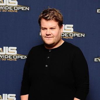 James Corden will host the Brits for the third time