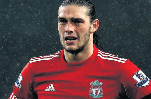 Andy Carroll has failed to live up to his £35m price-tag since his move to Liverpool last year