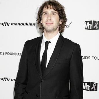 Josh Groban will send himself up in movie Coffee Town