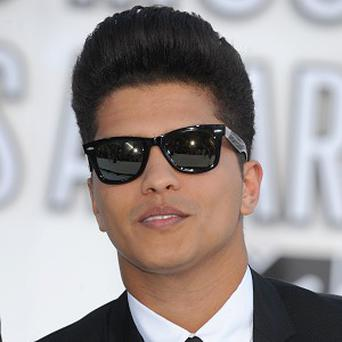 Bruno Mars has received six nominations for the Grammys