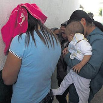 Adoption: Suspects and one of the babies in Guadaljara