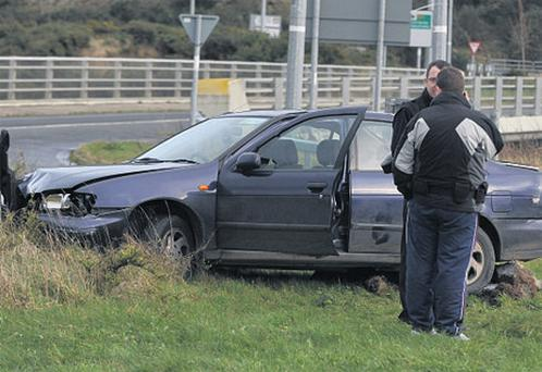 Gardai chased the father and his three children last week following safety concerns. Photo: Damien Eagers