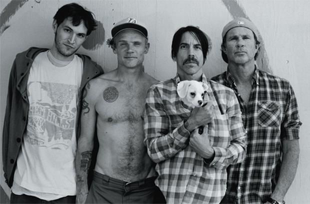 'That's something I've wanted more than anything in my life: to have a band of friends that you trust and love' — new band member Josh Klinghoffer, far left, with, from left, Flea, Anthony Kiedis, and Chad Smith