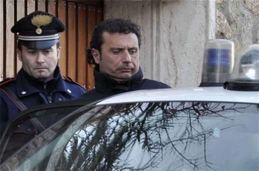 Costa Concordia cruise liner captain Francesco Schettino is in custody. Photo: Reuters
