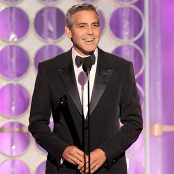 George Clooney took a moment to commend fellow nominee Michael Fassbender following his recent performance in Steve McQueen's sex-addiction film Shame