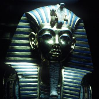 A 1,100 year-old tomb has been discovered in Egypt where the gold funeral mask of Tutankhamen was also found