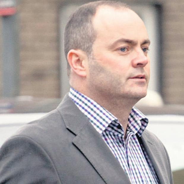 Dublin hurling manager Anthony Daly outside the creditors' meeting in Limerick yesterday