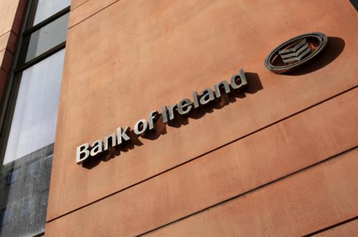 Bank of Ireland was another mover, rising 2.22pc. Photo: Getty Images