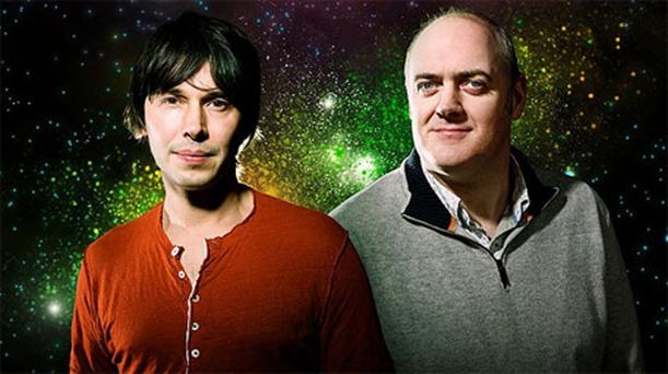 Professor Brian Cox and Dara O'Briain