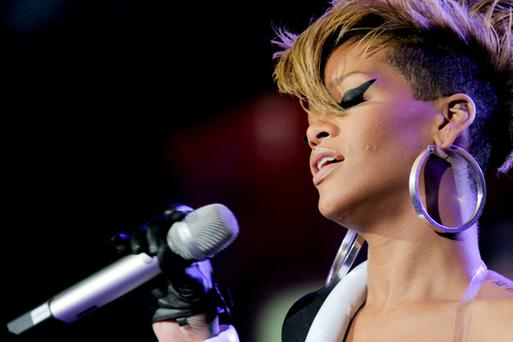 Two separate performances by Rihanna in October and November grossed $2.1m (€1.64m).