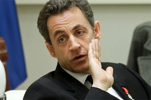 French President Nicolas Sarkozy. Photo: Getty Images