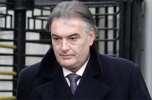 Ian Bailey leaves the Supreme Court in Dublin today. Photo: PA
