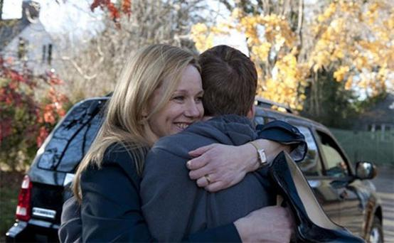 Big C: Laura Linney stars as cancer patient Cathy Jamison in comedy drama The Big C. Photo: Channel 4