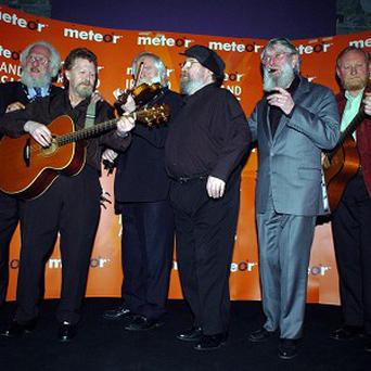 The Dubliners are set to receive a music gong