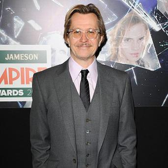 Gary Oldman is nominated for his role in Tinker Tailor Soldier Spy