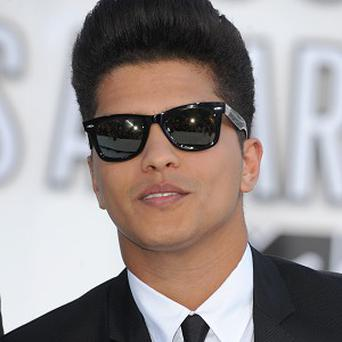 Bruno Mars did not appear in person for the hearing
