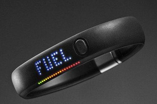 Nike+ FuelBand displays your progress on its LED display