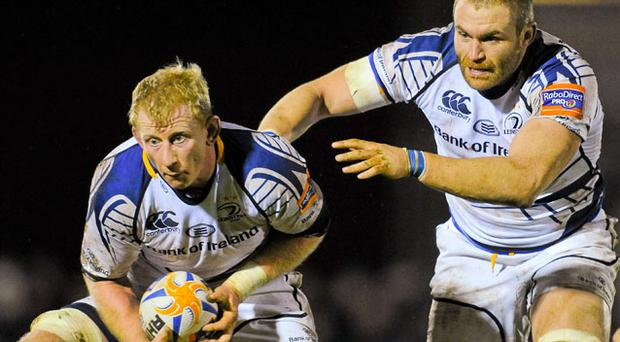 Leo Cullen is willing to play through the pain barrier for Leinster and Ireland.