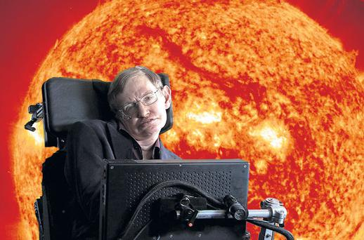 Star man: Stephen Hawking is the most recognisable scientist on the planet