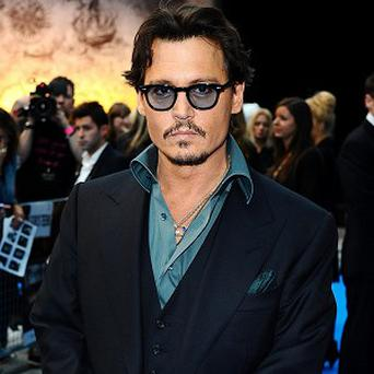 Johnny Depp topped the American poll