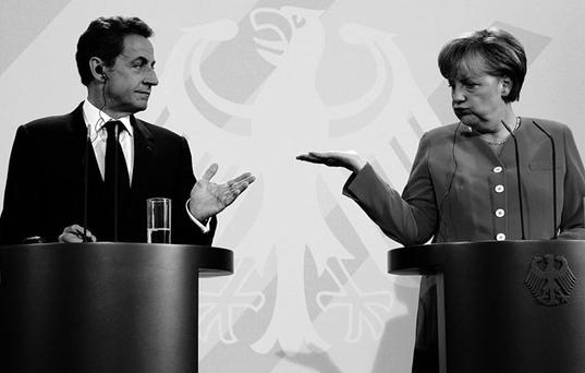 HOW COULD THEY SAY NO? All we have to do is get French President Nicolas Sarkozy and German Chancellor Angela Merkel, plus the 25 other EU leaders, to agree to our debt restructuring plan drawn up by the Troika