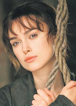 SHATTERED BLISS: Elizabeth Bennet, portrayed by Keira Knightley in the 2005 film of 'Pride and Prejudice', has her new life disrupted by a murder in 'Death Comes To Pemberley'
