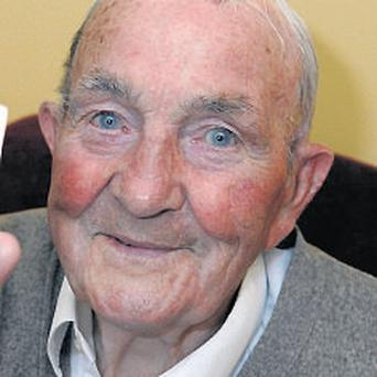 Paddy Martin: was a successful amateur boxer, known as 'the champ'