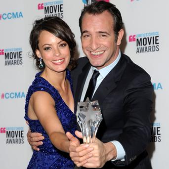 Jean Dujardin and Berenice Bejo. Photo: Getty Images