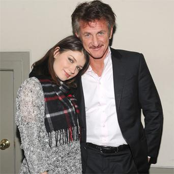 Sean Penn with Eve Hewson. Photo: Getty Images