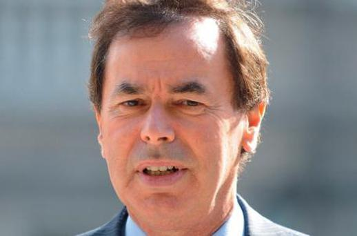 Alan Shatter. Photo: Damien Eagers