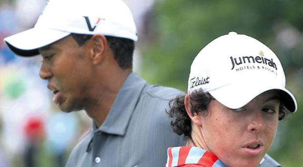Tiger Woods and Rory McIlroy look sure to generate plenty of entertainment for golf fans