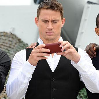 Channing Tatum didn't have any formal acting training