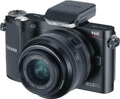 Solid yet nimble: The Samsung NX200